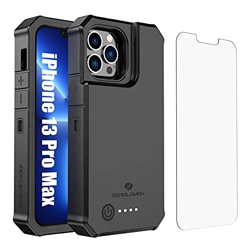 ZEROLEMON iPhone 13 Pro Max Battery Case 10000mAh, Wireless Charging...