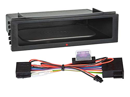 Ablagefach Inbay für 2-DIN Rahmen (107 mm Höhe) Qi Ladegerät