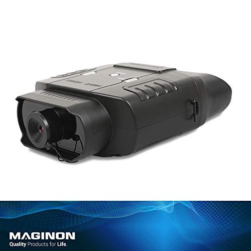 Maginon NVB 60 - Visore notturno, portata 400 m, zoom doppio, ideale per attività all'aperto, portata 60 m di notte, ingrandimento 3x