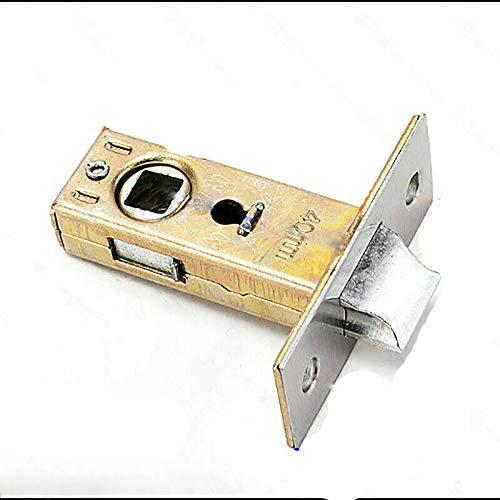 SENRISE 2 pernos de puerta de acero inoxidable para uso con manijas de puerta (plano de 35 mm)