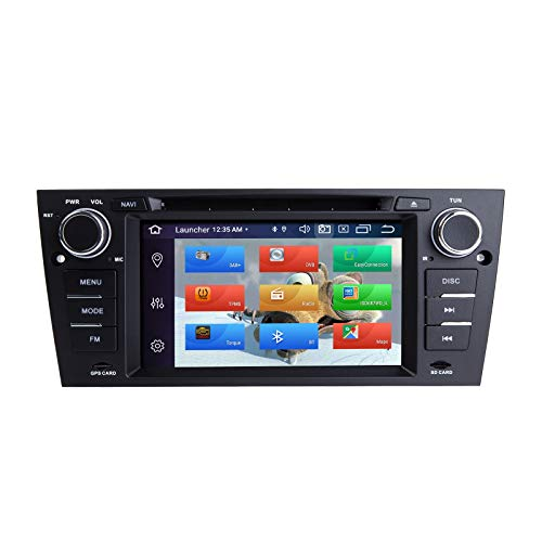 ZLTOOPAI Autoradio Stereo per BMW E90 E91 E92 E93 Android 10 Octa Core 4G RAM 64G ROM 7 pollici IPS Double Din In Dash Navigazione GPS per auto Lettore DVD