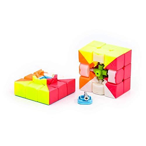 Cubelelo QiYi Warrior 3x3 Stickerless Magic Speed Cube 3x3x3 Puzzle 3