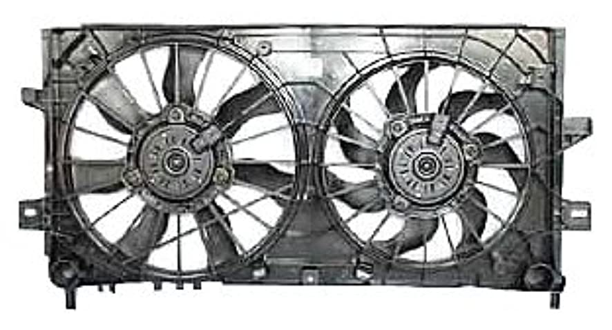 TYC 621430 Chevrolet/Pontiac Replacement Radiator/Condenser Cooling Fan Assembly