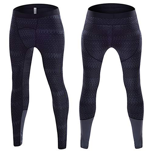 YXYBABA Mannen compressie panty's, sneldrogende, gezonde, veilige compressie broek voor alle sporten in de lente, zomer, herfst en winter