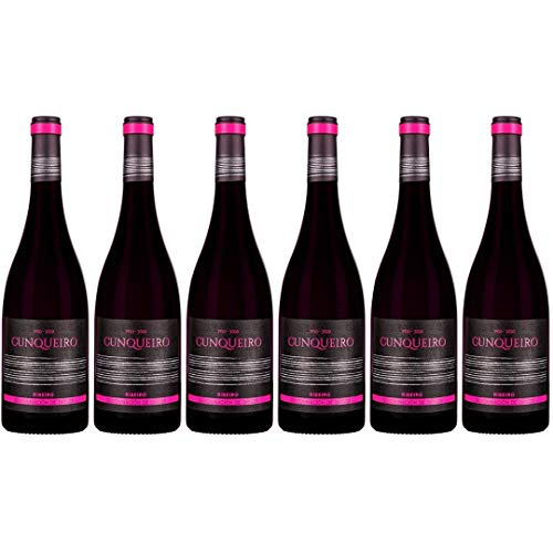 Cunqueiro Vino Tinto Joven - 6 Botellas - 4500 ml
