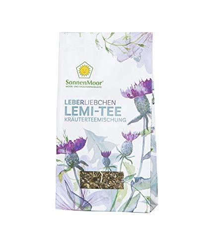 SonnenMoor Leberliebchen - LEMI Tee - loser Kräutertee 50 Gramm - natürliche Bitterstoffe für Leber und Galle