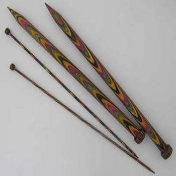 Multi-Color KnitPro 3Pk Symfonie Wood Cable Needles