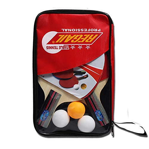 Learn More About Table Tennis Racket Set, Long Handle Pen Holder/Yellow Handle Short Racket/Environm...