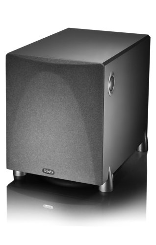 Definitive Technology ProSub 800 - High Output Compact 300W Powered Subwoofer | Heart-thumping Sound for Home Theater System | (Single, Black)