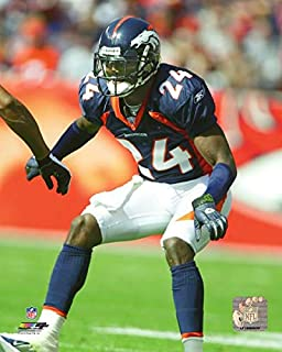 Champ Bailey Denver Broncos Action Photo (Size: 8
