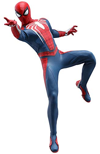Hot Toys Spider-Man Advanced Suit 1/6 Sixth Scale Figure Marvel Video Game Masterpiece Series Action Figure