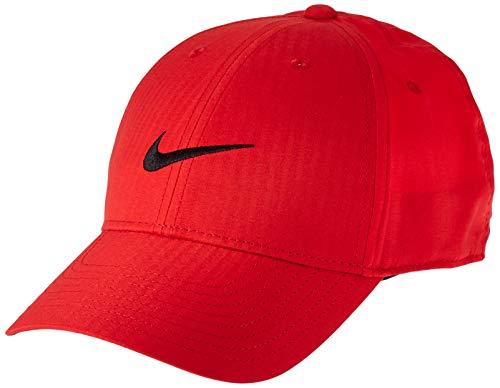 Nike Unisex-Erwachsene Legacy91 Tech Hat, Unisex-Erwachsene, Mütze, Unisex Legacy91 Tech Hat, Universität Rot/Anthrazit/Schwarz, Einheitsgröße