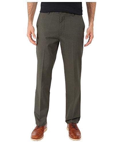 Dockers Men's Slim Fit Signature Khaki Lux Cotton Stretch Pants, Olive Grove (Stretch), 33W x 30L