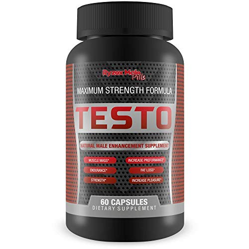 Testo Testosterone Booster For Men - Youth - Power - Growth - Vigor - Alpha Male - Return To Your Male Testo Prime With A Natural Testo Boost - Best Testosterone Booster - Mens Testosterone Booster