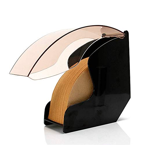 MBLUE 1Pc V60 konische Flabellate Filter PapierHalter KaffeeFilter Papier Aufbewahrungsbox