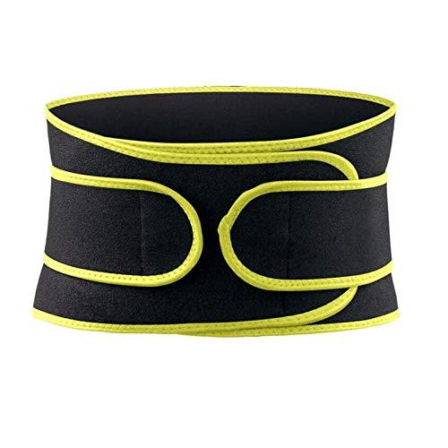 Qilo Levantamiento de Pesas cinturón for Hombres y Mujeres - cómodo elástico de la Correa, Ajuste - La estabilización de Soporte Lumbar for el Levantamiento de Pesas (Size : Small)