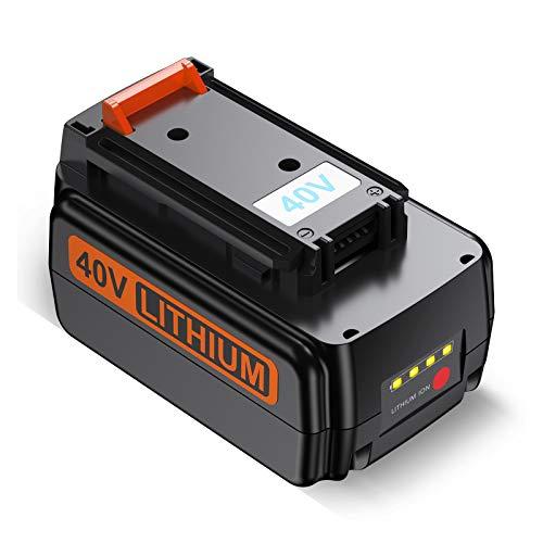 FirstPower 40V 3.0Ah Battery - Compatible with Black & Decker 40V Lithium Ion Cordless Drills Power Tools LBX2040 LBX36 LBXR36 LBXR2036