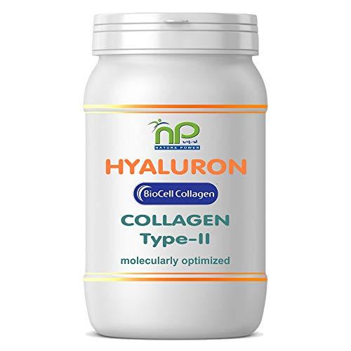 MoriVeda® NP-Vital Biocell Collagen-Kapseln 1000mg, 60 Stück I Enthält Collagen-II & Hyaluronsäure mit hoher Bioverfügbarkeit I Für Haut, Haare & Gelenke (2 Monatspackungen)