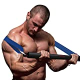 Elevtab Portable Resistance Bar, Weightlifting Training Kit, Resistance Band Set, Full Body Workout Equipment, for Home Gym