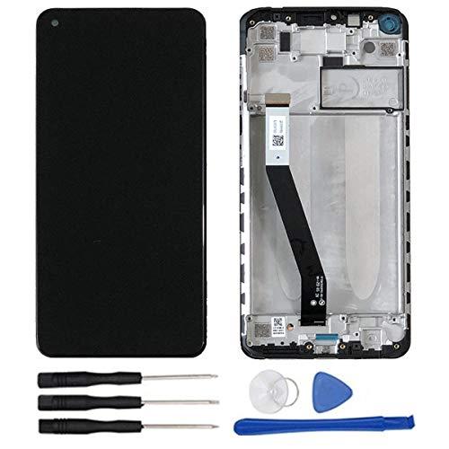 soliocial Completa Pantalla LCD + Táctil Digitalizador Reemplazo para Xiaomi Redmi Note 9 M2003J15SG / Redmi 10X 4G 6.53 Inch + Marco Negro