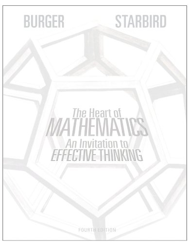 The Heart of Mathematics: An Invitation to Effective Thinking [With 3-D Glasses] (Key Curriculum Press)