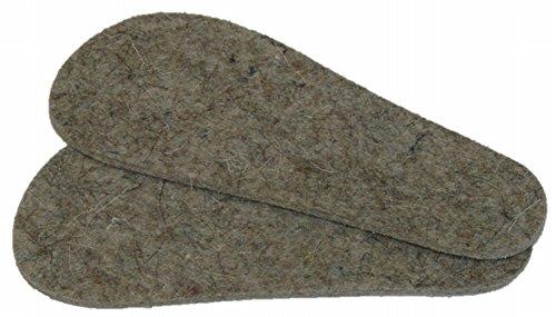 Mopu's® Krabbelschuhe - Einlegesohle aus Schurwollfilz naturfarben Stärke ca. 3,5mm