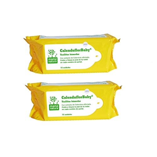 Toallitas calenduflorbaby 144 uds (2 pack 72)