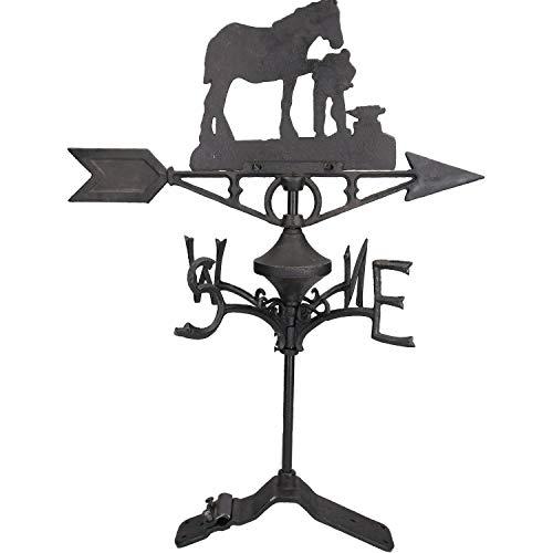 AB Tools Cheval/Mare marechal-ferrant Girouette Vain Ridge Mont Toit Maison Chaussures
