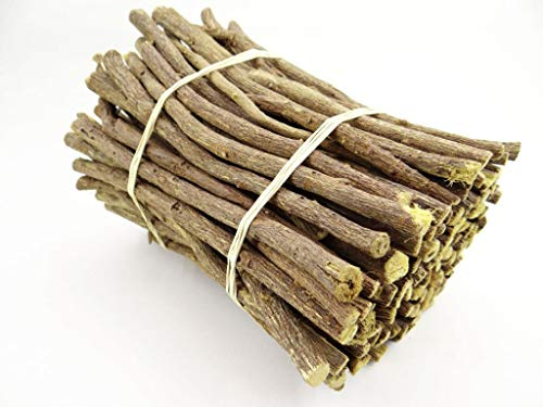 pikantum Süßholzstangen naturell | 500g | Süßholzwurzel | Lakritzstangen