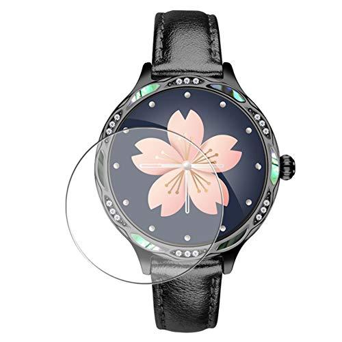 Vaxson 3 Stück Schutzfolie, kompatibel mit Smartwatch smart watch M9, Displayschutzfolie TPU Folie [ nicht Panzerglas ]