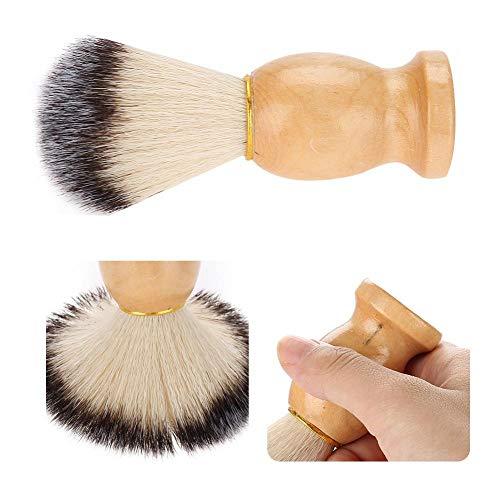 Haar-Rasierpinsel, Salon-Bart-Rasierpinsel Friseur-Rasierpinsel für Ihren besten Männer-Friseur-Werkzeug-Haar-Reise-Rasierpinsel