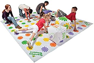 DOM Giant Get Knotted Inflatable Game, Set Includes Game Mat, 8 Stakes and 2 Giant Inflatable Dice - 1321011