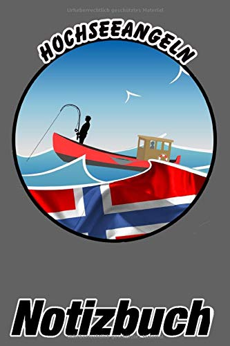 Hochseeangeln Notizbuch: Norwegen - Notizbuch mit 140 linierten Seiten
