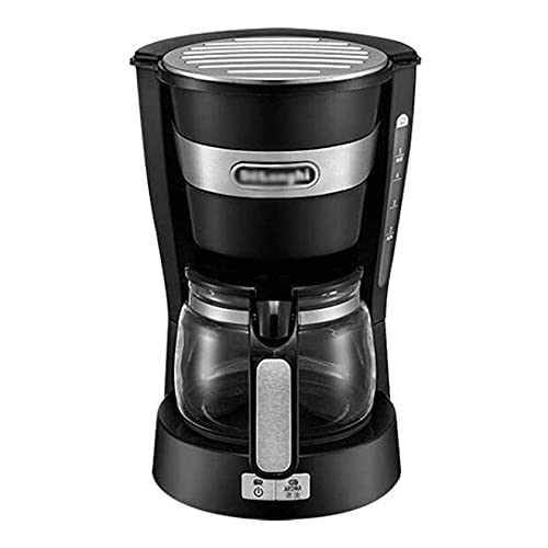 Ekspres do kawy, 650W-automatyczny automatyczny mała ekspres do kawy kapinos, konstrukcja antykasowa, zbiornik wody o dużej pojemności z skalą wskaźnikiem poziomu wody, dla hoteli, pokoi, biur, kuchni