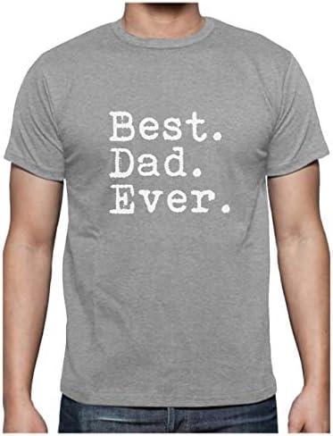 Regalos para Padres. Camisetas Hombre Originales Divertidas - Best Dad Ever