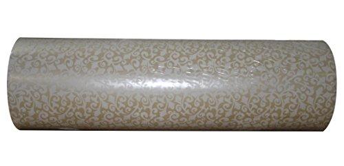 Woerner Geschenkpapier Versailles creme Rolle 250m x 50cm