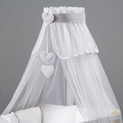 3-teilig: Betthimmel Baby, bunte Dekoration und Himmelhalter entworfen von Dreamzzz