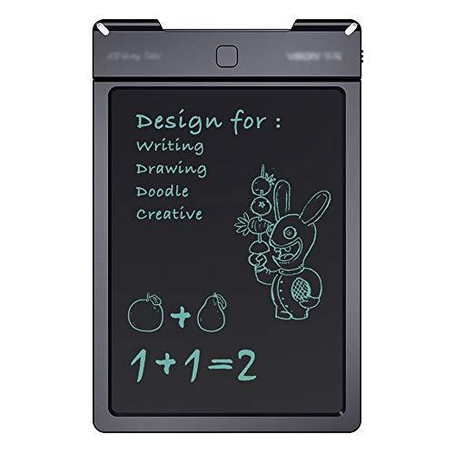 Zyangg-Home Papierloze LCD Tekening Tablet Met Stylus Gift, Smart Paper Voor Vloeibare Crystal Tablet Tekening Inclusief Stylus Draagbare Tablet, Handschrift Tablet, (Kleur : Zwart, Maat : 13 inch)