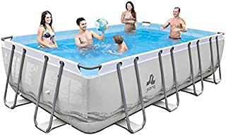 JILONG überirdischer Pool XXL Mistral 549x 305x 122cm–Tubo Platillos