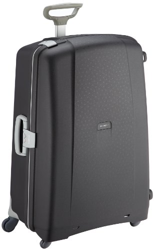 Samsonite Aeris Spinner XL Suitcase Luggage, 81 cm, 118.5 Litre, Black (Black)