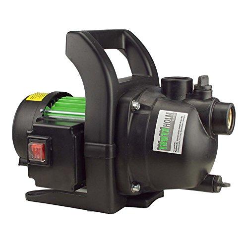 TRUTZHOLM® Gartenpumpen Wasserpumpe Pumpe Teichpumpe 1.000W 3.200 l/h 4,4 bar Förderhöhe 44m