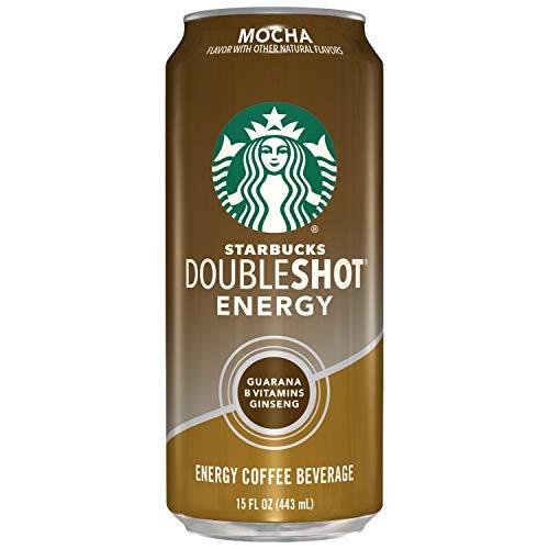 Starbucks Doubleshot Energy Espresso Coffee, Mocha, 15 oz Cans (12 Pack)