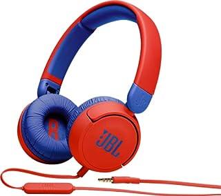 JBL JBLJR310RED Kids On-Ear Headphones, Red