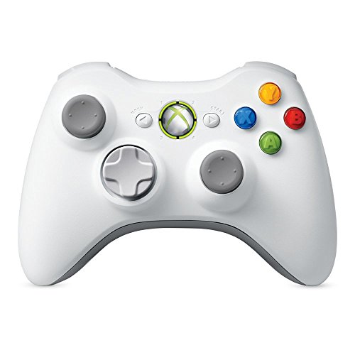 Xbox 360 Wireless Controller - White (Renewed)
