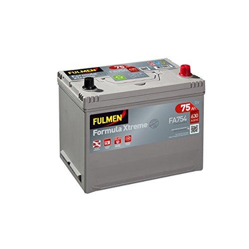 Starterbatterij Fulmen fa754, 12 V, 75 Ah, 630 A