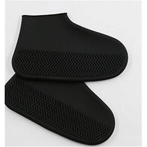 WENSMPIG Waterdichte Anti-slip Siliconen Schoen Cover 2 Stks Nieuwe Herbruikbare Stap in Sock Schoen Cover Een Stap Schoenhoezen Duurzame Automatische