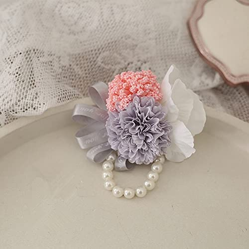 Artificial and Dried excellence Clearance SALE Limited time FlowerColors 7pcs Bride B Flower Pack Wrist