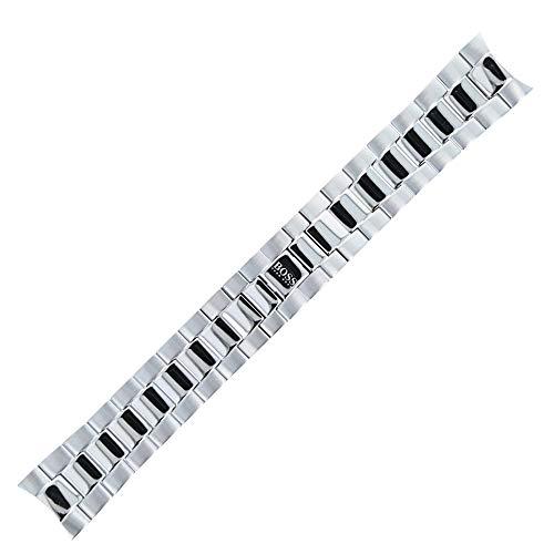 Hugo Boss Uhrenarmband 22mm Edelstahl Silber - 659002386
