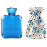 Botellas de agua caliente La inyección de agua caliente botella de agua la botella del bolso...