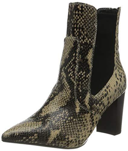Buffalo Damen Meghan Mode-Stiefel, Snake Natural, 40 EU